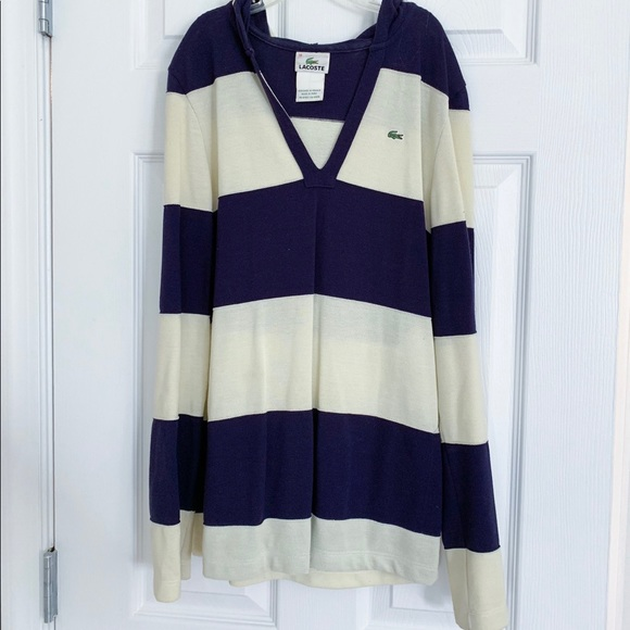 Lacoste Tops - Lacoste striped shirt